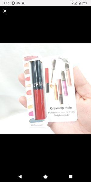 Sephora Cream Lip Stain Red Velvet 96 NWT for Sale in Charlotte, NC