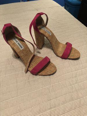 Hot Pink Steve Madden Sandals for Sale in St. Petersburg, FL