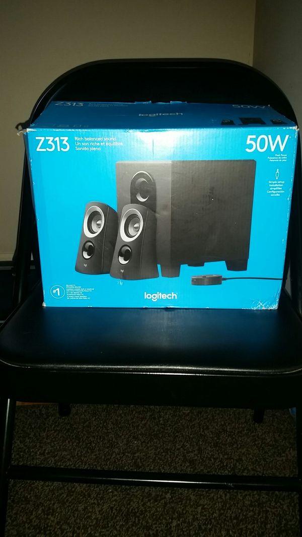 Logitech 50w Speakers