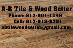 Tile and wood for Sale in Dallas, TX