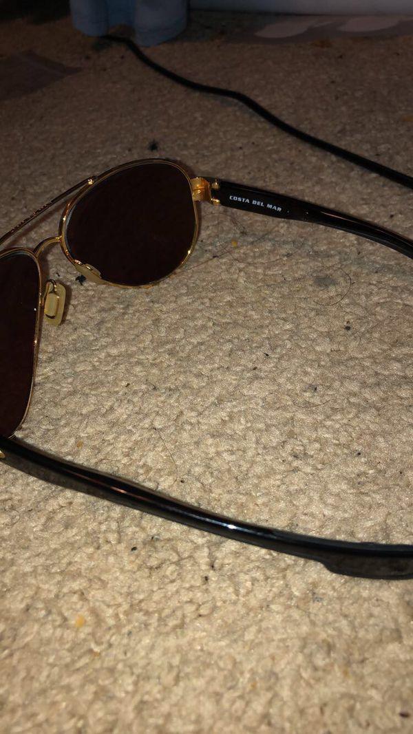 Costa Del Mar Glass lens, Metal frame Used Glasses