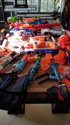 NERF TOY GUNS for Sale in Hollywood, FL