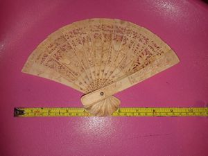 Antique China carved bone fan. for Sale in Hazard, CA