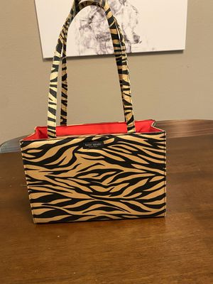 Kate Spade beige & black stripe Sam bag for Sale in Tumwater, WA
