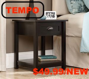 End Table/ Nightstand, Estate Black for Sale in Downey, CA