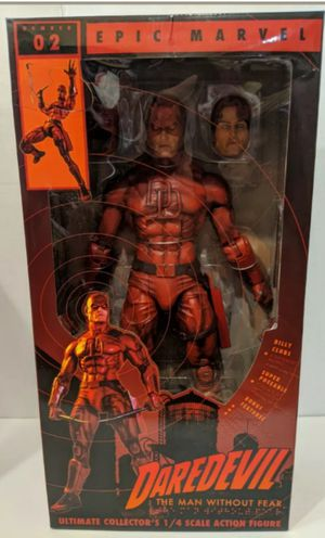 Neca Epic Marvel 1/4 Scale 18 Inch Daredevil Collectible Action Figure Toy for Sale in Chicago, IL