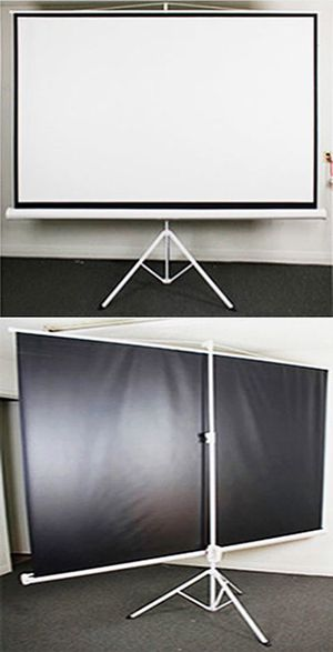 """Brand New $70 Tripod Stand 100"""" Projector Screen 16:9 Ratio Projection Home Theater Movie for Sale in Downey, CA"""