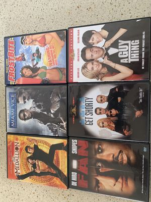 Six DVD movies for Sale in Anderson, SC