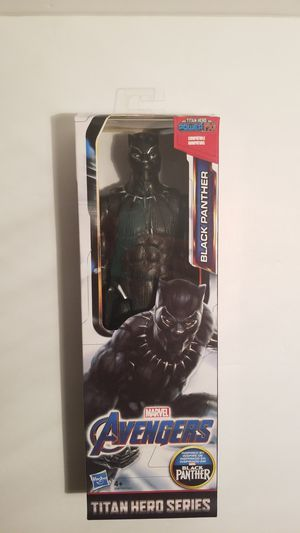 Titan Hero Series Marvel Avengers Black Panther 12 inch figure for Sale in Spring, TX