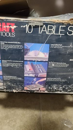 Table Saw for Sale in DEVORE HGHTS, CA