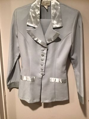 LIGHT BLUE SKIRT AND JACKET SUIT for Sale in Irvine, CA