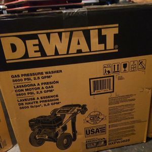 DeWalt Gas Pressure Washer for Sale in American Fork, UT