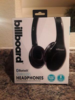 Billborad Bluetooth Wireless Headphones, for Music & Phone, NEW for Sale in Mesa, AZ