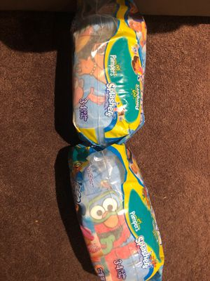 Pampers swim diapers size 3-4 12 each back (they come together) for Sale in Denver, CO