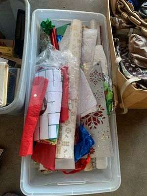 FREE CHRISTMAS WRAPPING PAPER for Sale in Whittier, CA