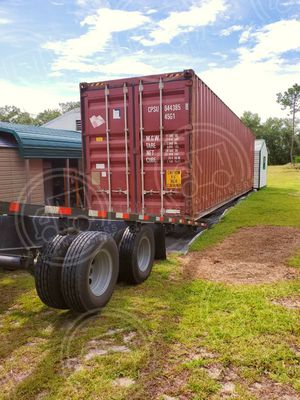 Selling 40 ft hc container with delivery included for Sale in Atlanta, GA