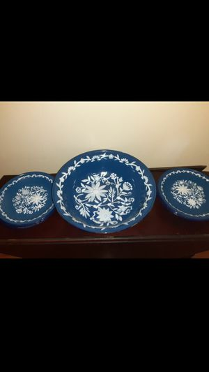 Beautiful enamel dishes for Sale in Silver Spring, MD