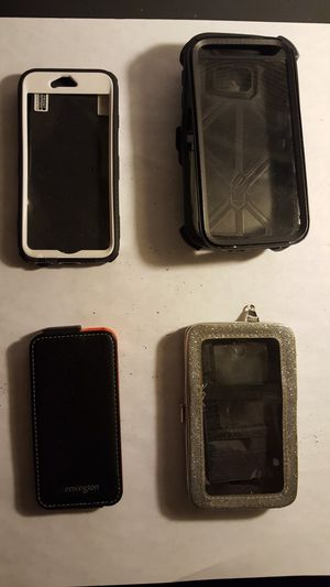 3 Iphone, 1 Samsung s5 case for Sale in Pittsburgh, PA