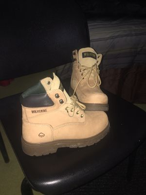 Wolverine Work Boots (SIZE 6.5) for Sale in Valley View, OH