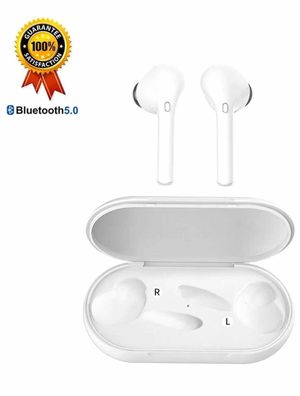 True Wireless Earbuds Bluetooth Earbuds Wireless Earbuds - Bluetooth 5.0 Mini in Ear TWS Earbuds with Charging Case,Noise Cancelling Earbuds,Earbuds for Sale in Lorton, VA