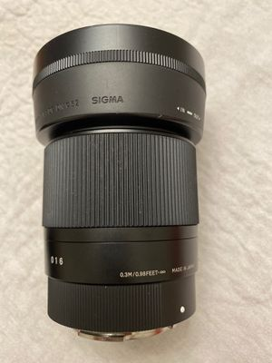 Sigma 30mm Lens for Sony for Sale in Los Angeles, CA