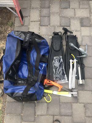 Scuba gear and XL waterproof bag BEST OFFFER for Sale in Mountain View, CA