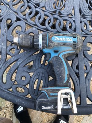 Makita 18v drill with battery for Sale in Tracy, CA