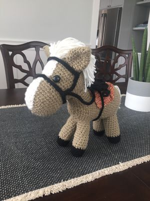 Crocheted horse for Sale in Renton, WA