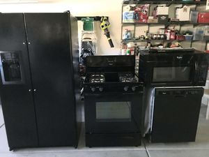 4 Piece Kitchen Appliance Package $500 for Sale in Henderson, NV