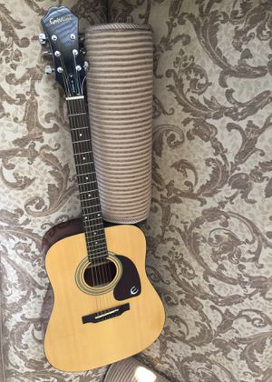 Epiphone (Gibson) Acoustic Guitar, Model: PR-150NA, Serial Number: EA03115639 || Dreadnought style • Spruce top • Mahogany back and sides • Mahogany for Sale in West Covina, CA