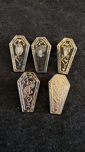 Disney Trading Pins coffins $4 EACH, never worn for Sale in Anaheim, CA