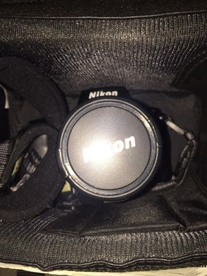 Nikon n50 with a 28-80mm lenses for Sale in Windsor Hills, CA