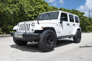 2015 Jeep Wrangler Unlimited Sahara 4WD for Sale in HALNDLE BCH, FL