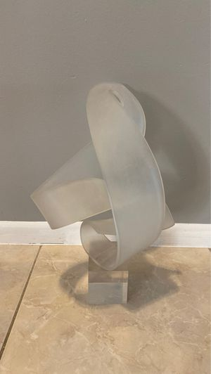 Custom mid century modern lucite sculpture for Sale in Lake Worth, FL