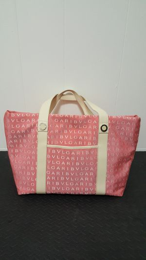 Bvlgari pink tote with small wallet/bag for Sale in San Diego, CA