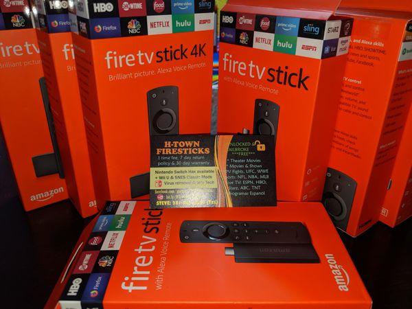 Amazon 4k fire TV or basic stick w alexa