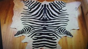 Zebra Cowhide Rug for Sale in Newton, MA