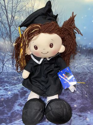 """New Linzy Congratulations 12"""" Cloth Rag Doll for Sale in Bellflower, CA"""