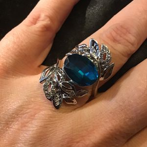 8 Flank Ring silver filled for Sale in Charleston, SC