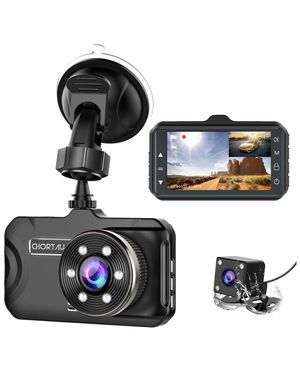 Brand new! Dash Cam Front and Rear Dual Dash Cam 3 inch Dashboard Camera Full HD 170° Wide Angle Backup Camera with Night Vision WDR G-Sensor Parking for Sale in Miami, FL