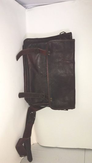 Vintage Brown Leather Messenger Bag for Sale in Murfreesboro, TN