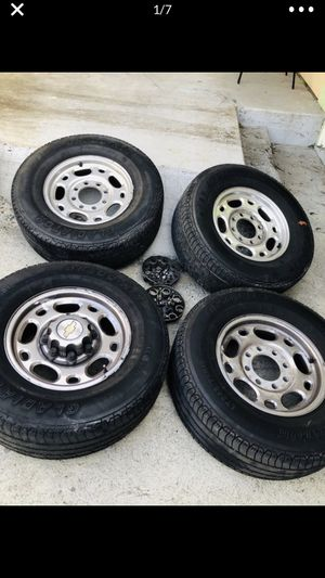 245/75R16 For Chev Set of Tires for Sale in Los Angeles, CA