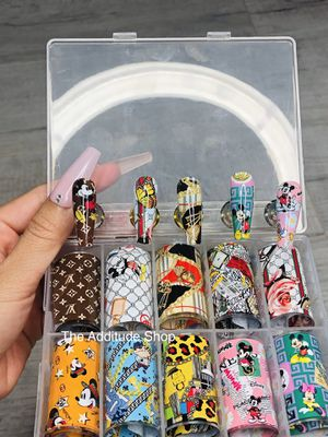Mickey Mouse nail foils for Sale in San Jose, CA