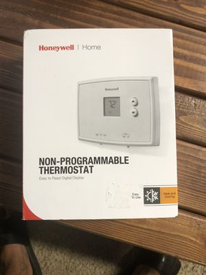Honeywell Home Thermostat for Sale in Fresno, CA