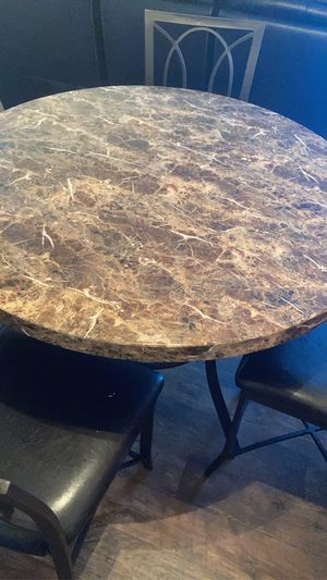 Kitchen table and four chairs for Sale in Sacramento, CA