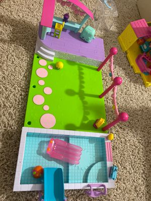 Shopkins Pool party play set for Sale in Fort Lauderdale, FL