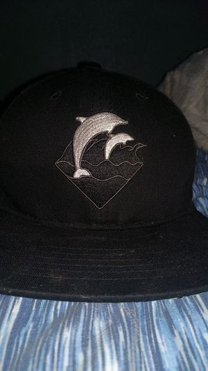 New era batman hat and pink dolphin hat for Sale in Sacramento, CA