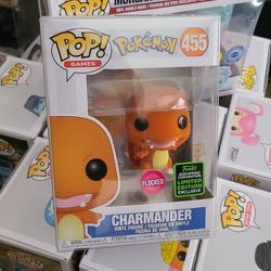 Funko Pop ECCC 2020 Charmander Flocked Shared Exclusive for Sale in College Park,  GA
