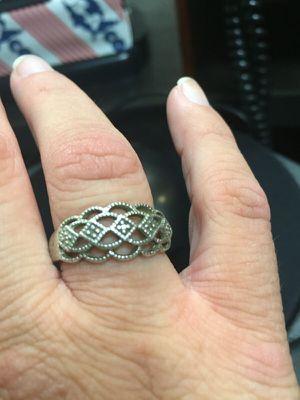 Genuine diamond ring size 9 for Sale in Jacksonville, FL