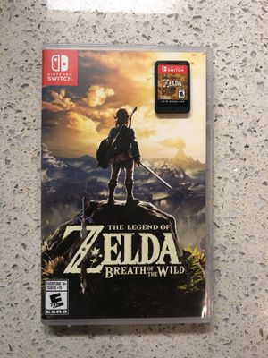Zelda Breath of the Wild - Nintendo Switch for Sale in Austin, TX